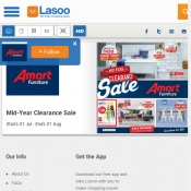 Amart Furniture Mid Year Clearance Sale 1 July - 1 August