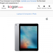 Apple iPad Pro 9.7 (128GB, Cellular, Space Grey) $899 @ Kogan