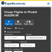 Cheap tickets to Phuket starting from AU$262.58 Deal Image