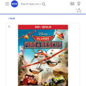 Planes: Fire and Rescue (DVD/Digital Copy) just $9 Deal Image