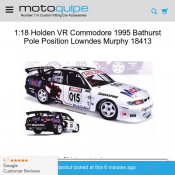 1:18 Holden VR Commodore 1995 for $99 @ Motoquipe Deal Image
