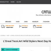 L'Oreal Tecni.Art Wild Stylers Next Day Hair 250ml $17.45 Deal Image