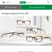 Designer glasses from $89 @Specsavers Deal Image