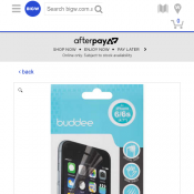 Buddee Screen Protector for iPhone 6/6s 4 Pack FOR $5 Deal Image
