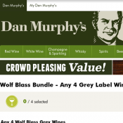 Wolf Blass Bundle - Any 4 Grey Label Wines + 2 Brown Label Shiraz for $160 Deal Image