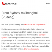From Sydney to Shanghai (Pudong) Return from $530 Deal Image