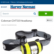 Coleman CHT10 Headlamp for $19 Deal Image