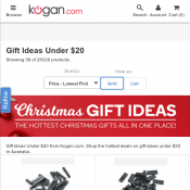 Christmas Gift Ideas Under $20 Deal Image