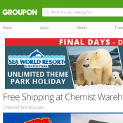 Free Shipping at Chemist Warehouse Online (Don't Pay $8.95) Deal Image