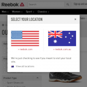Reebok Outlet Offers - women shoes $80, backpack $35, pants $62 Deal Image
