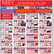 MSY Clear Out Laptop Offers Asus, Acer, HP