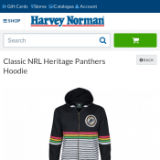 Classic NRL Heritage Panthers Hoodie $10 (Online Only) Deal Image