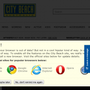 Free Shipping with code @City Beach Australia Deal Image