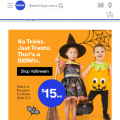 Halloween Products starting from $1 @Big W Deal Image