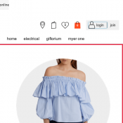 50% OFF the original price of womens clothing @Myer  Deal Image