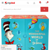 The Wonderful World of Dr. Seuss 20 Book Collection $59 (RRP $99) Deal Image