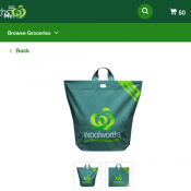 Woolworths Reusable Shopping Bag each $0.15 Deal Image