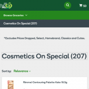 Cosmetics On Special 40% OFF @Woolworths  Deal Image