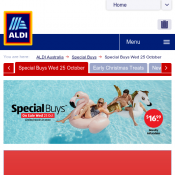 ALDI Special Buys Summer Products On sale Wednesday 25 October  Deal Image
