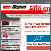 AUTO CLUB MEMBERS SAVE 30% OFF SATURDAY 21st & SUNDAY 22nd OCTOBER @Repco Deal Image