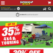 3 Day Deals - 20% OFF recovery range, 25% OFF fridges and coolers, 30% OFF campsite lighting  Deal Image