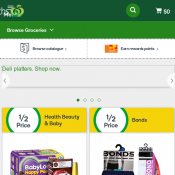 Woolworths Half Price Offers of the week Pepsi, Babylove, Aussie Fruits, Nescafe etc Deal Image