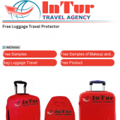 Free Luggage Travel Protector @Intur Deal Image