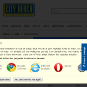 Take an Extra 25% OFF Sale with code @Citybeach Deal Image