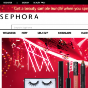 Spend $170 and more and get beauty sample bundle @Sephora Deal Image