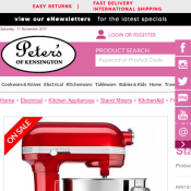 KitchenAid Pro Line Candy Apple Stand Mixer $999 (RRP $1299) Deal Image