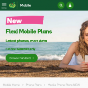 Flexi Mobile Plans 10 GB Data $73.05/mth; SIM Only Plans 10 GB Data $40/mth @Woolworths Catalogue Deal Image