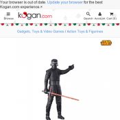 Star Wars Episode 8 Kylo Ren Figure $13 + Shipping Deal Image