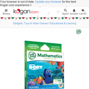 LeapFrog LeapPad Learning Library: Finding Dory $19 Deal Image