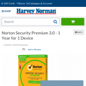 Norton Security Premium 3.0 - 1 Year for 1 Device $28 Deal Image