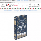 The Adventures of Tom Sawyer $18.25 + Delivery Deal Image