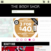 Early Bird 20% OFF Storewide @The Body Shop Deal Image