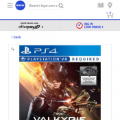 EVE:Valkyrie Playstation 4 $45 Deal Image