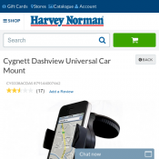 Cygnett Dashview Universal Car Mount Clearance Item $8 Deal Image