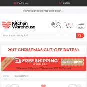 Kitchen Warehouse Special Offers  Deal Image