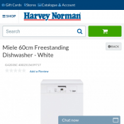 Miele 60cm Freestanding Dishwasher $999 Deal Image