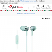 Sony EX Monitor In-Ear Headphones FOR $25 Deal Image