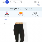 Michelle Bridges Core Knee Length Leggings $2 each Deal Image