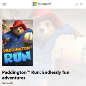 Microsoft Store - FREE Paddingto Run: Endlessly fun adventures Deal Image
