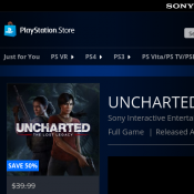 FREE Uncharted 10th Anniversary Bundle (PS4 Themes & Avatars) @ PlayStation Store Deal Image