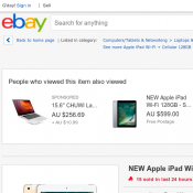 NEW Apple iPad Wi-Fi + Cellular 128GB - Gold AU $799 Deal Image