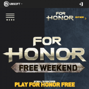 Ubisoft - FREE For Honor PS4 / Xbox / PC Deal Image