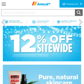 Amcal - 12% Off Storewide Deal Image