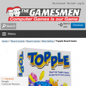 Topple Board Game NEW Product $9.99 Deal Image