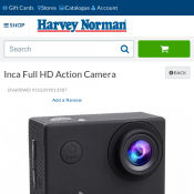 Inca Full HD Action Camera for $47  Deal Image