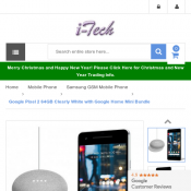Google Pixel 2 64GB Clearly White with Google Home Mini Bundle $899 (RRP $1079) Deal Image